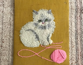 Quirky Cat Wall Hanging