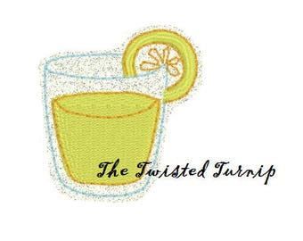 Lemonade Feltie Felt Felty Embroidery Design Summer Feltie Designs Instant Download Digital File 5x7 Hoop