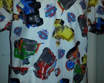 Paw Patrol Scrub Shirt Med Size