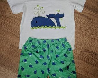 Whale Short set