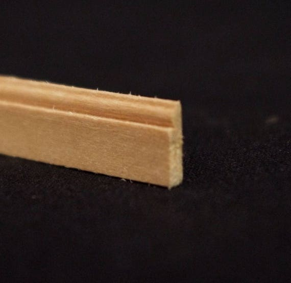 Groin, wood nature untreated, for the doll's house, for the model, for the Krippenbau # 23559