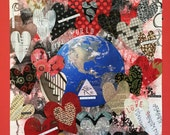 Heart Mixed Media Collage...