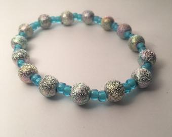 Blue Dainty Bracelet