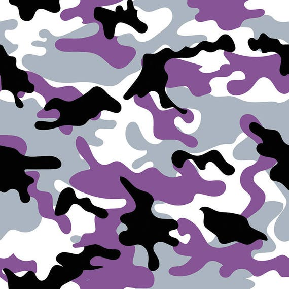 Purple Camo 1 Army Camouflage Seamless Pattern Military War