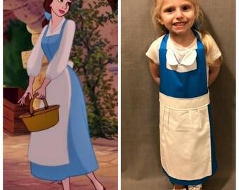 Provincial Belle Inspired Dress Up Apron