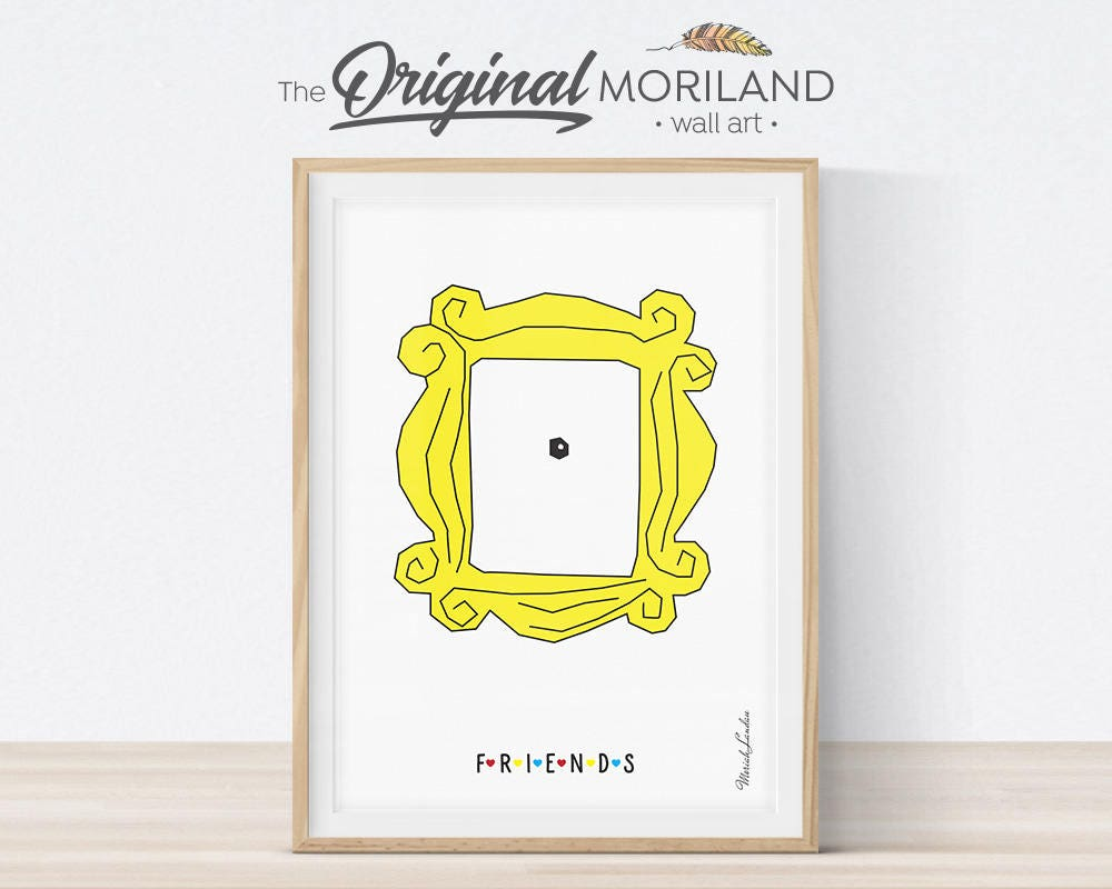 Awesome Picture Frame From Friends Tv Show Ornament - Picture Frame ...