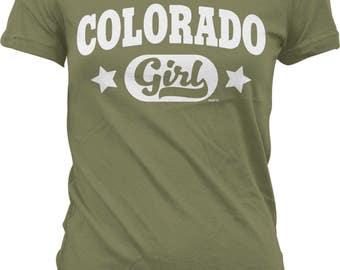 Colorado Girl Juniors T-shirt, NOFO_00969