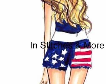 July 4th Girl