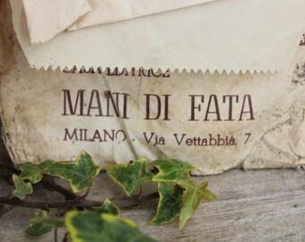 Envelope Patterns Vintage Original Fairy Hands
