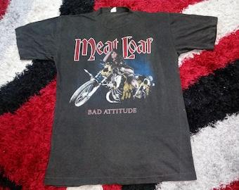 RARE!!! Vintage Original Meat Loaf Bad Attitude Tour '84/85 True Vintage