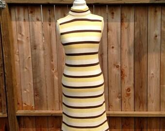 Mod 60's sweater dress, mad men, wiggle dress, mock turtle neck