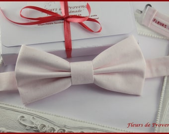Powder Pink bowtie - Man / child / baby