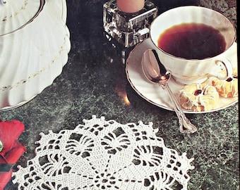 Crochet Patterns Doilies Timeless Doilies Southmaid 0126 Paper Original NOT a PDF
