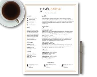 Resume cover letter Etsy