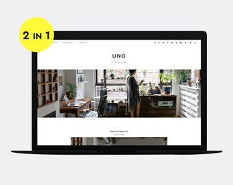 Responsive Blogger template | UNO