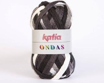 Wool Katia ONDAS ref 78 1 ball = 1 scarf