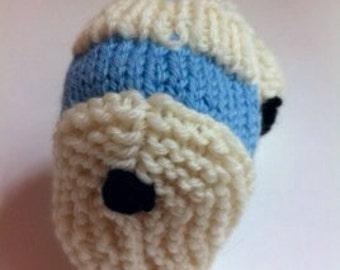 Carolina Tarheel Baby Booties Hand-Knitted Booties (0-6 Months) Super Soft Wool Tarheels UNC
