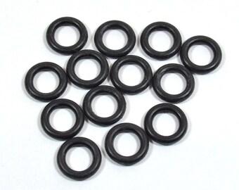 10mm Black Rubber O-Rings