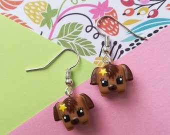 Earrings dangling minimixieqs my dogs