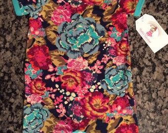 floral baby clothes -  baby romper -  boho romper - infant gift - girls clothing - you pick size - nickisrainbow - flowers - boho baby