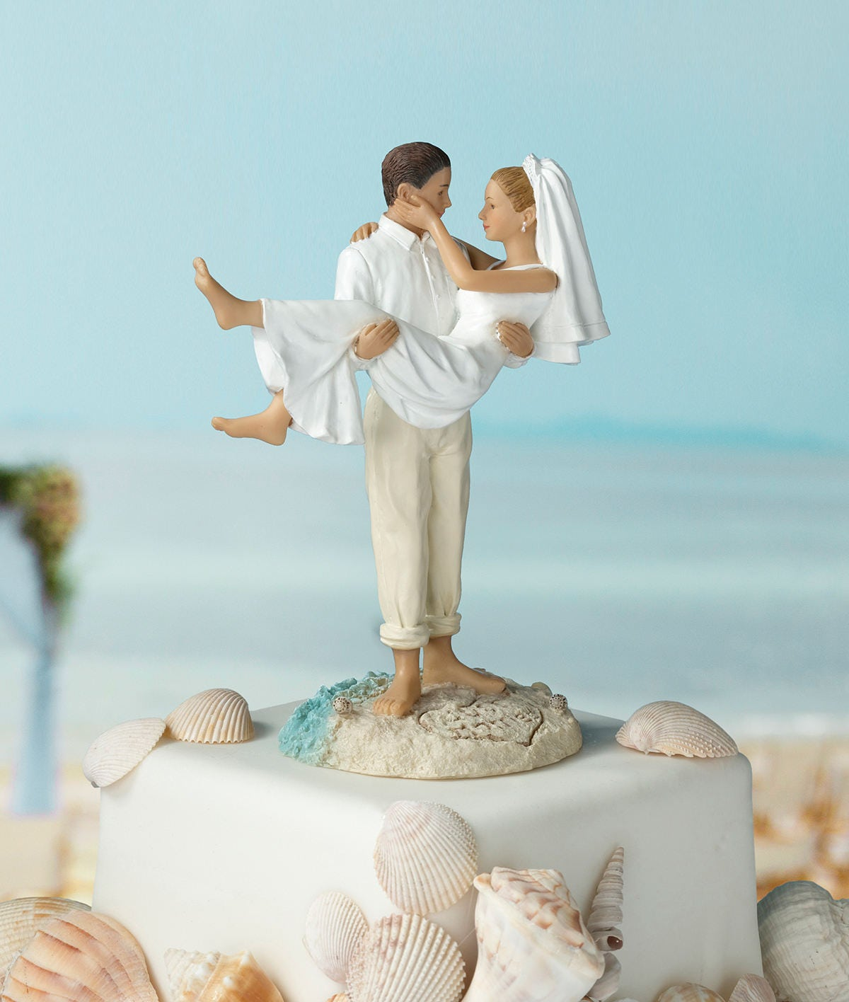 beach wedding cake toppers canada wedding cake topper wedding cake top 11194