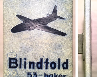 "Class 53-Baker 53-B (Connally Air Force Base Flight Pilot Training ""Blindfold"" Yearbook - Waco, TX) Military History Vintage Texas"