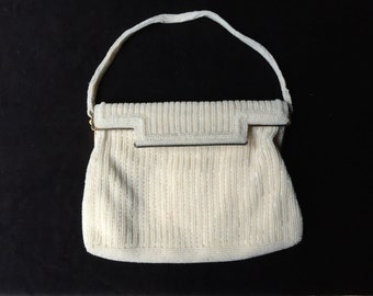 Vintage hand-beaded evening bag