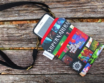 Design your own Custom Made Cross-Body Cell Phone Bag | Cell Phone Pouch | Cell Phone Purse
