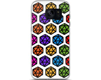 dungeons and dragons samsung case, dnd phone case d20 phone case dnd samsung phone case Nerdy Phone case d20 dungeons and dragons
