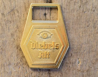 Vintage Bottle Opener DIEBELS ALT, Beer Bottle Opener, German Beer Opener, Collectables