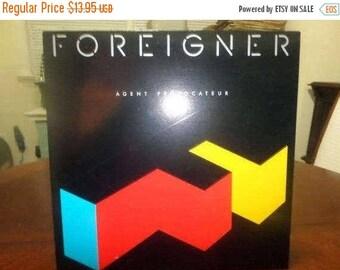 Save 30% Today Vintage 1984 Vinyl LP Record Foreigner Agent Provocateur Near Mint Condition Atlantic Records 5103