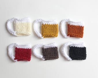 Beer Charms Knit Pattern