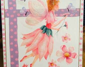 Pink Fairy  Box Decor
