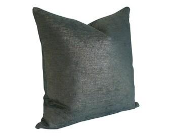 Glimmer Peacock Schumacher Designer Pillow Cover - Custom Made-to-Order
