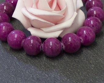 x 10 12 mm in violet PEJ140 Mashan jade beads
