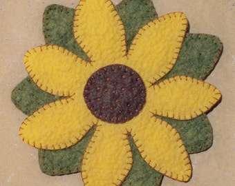 Flower Candle Mat Pattern
