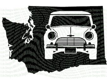State Classic Mini vinyl decal