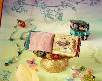 Pretty Little Felts   Mixed Media...Crafts  To Tickle Your Fancy  by  Julie Collings, Felt, Felting. Felt Crafts, Craft With Felt, Felting