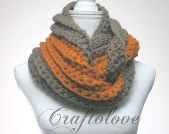 Chunky knit scarves - Chunky scarf - Infinity scarf - Chunky Infinity scarf - Chunky Infinity knit scarf - The Edinburgh - Winter scarf