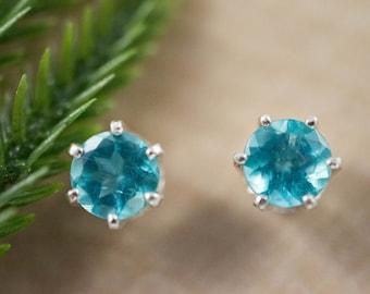 Apatite Sterling Silver Earrings