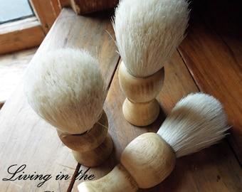 Shaving Brushes-Burnt Pine