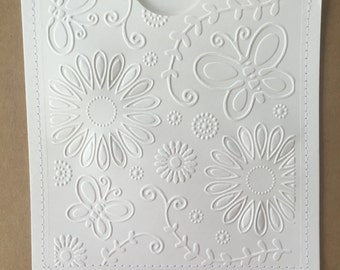 Embossed DVD Cases / Sleeves - Set of 10 white DVD sleeves