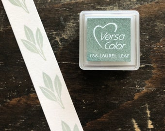 Versacolor Laurel Leaf Pigment Ink Stamp Pad Tsukineko Ink Pads Small