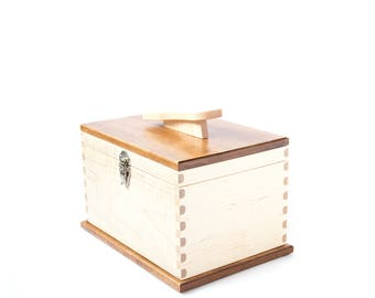 Deluxe Maple Shine Box 100% Handmade in USA
