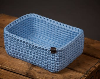 crochet basket, storage basket, crochet home decor, crochet storage, toy basket, decorative basket, handmade basket, storage bin