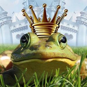 Frog Prince Perfume Mist 1/2 oz.  Fairy Tale Perfume, Fantasy Perfume, Perfume Gift For Her, Cherry Perfume, Girl's Perfume, Fairy Perfume