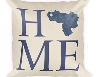 Venezuela Pillow, Venezuela Gifts, Venezuelan Decor, Venezuela Home, Venezuela Throw Pillow, Venezuela Art, Venezuela Map, Cushion