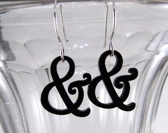 Mini Harrington Ampersand Earrings