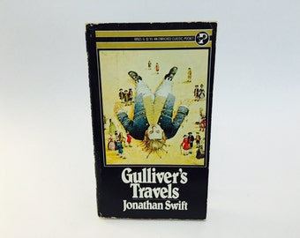 Vintage Classics Book Gulliver's Travels by Jonathan Swift 1972 Paperback