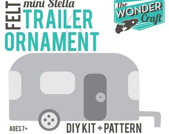DIY Digital Felt Trailer Instructions-Make an Ornament or a Fascinator